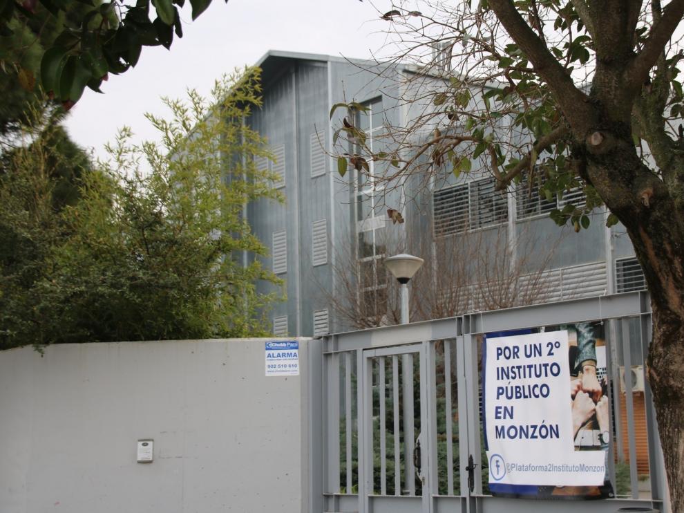Cambiar Monzón pide la construcción de un instituto
