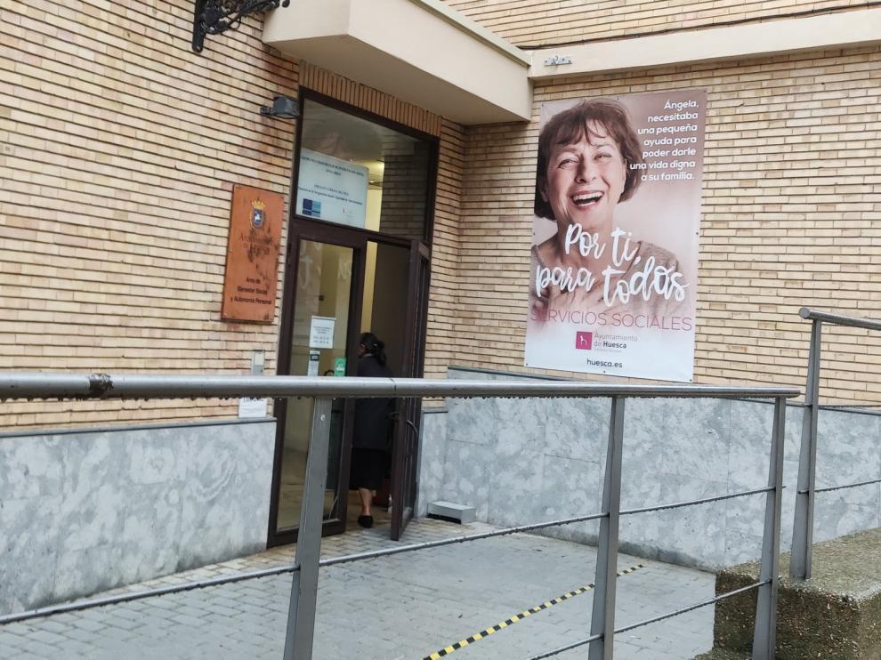 Ciudadanos Huesca plantea acometer la reforma de la anterior sede de Servicios Sociales