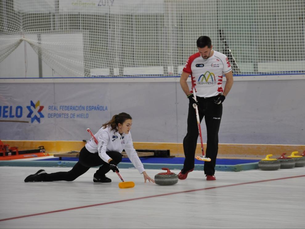 Dos equipos de Jaca se colocan segundos en el Campeonato de España de Curling