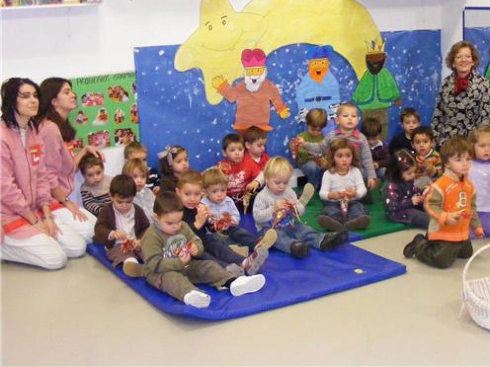 La escuela infantil de Graus cierra un aula por un covid
