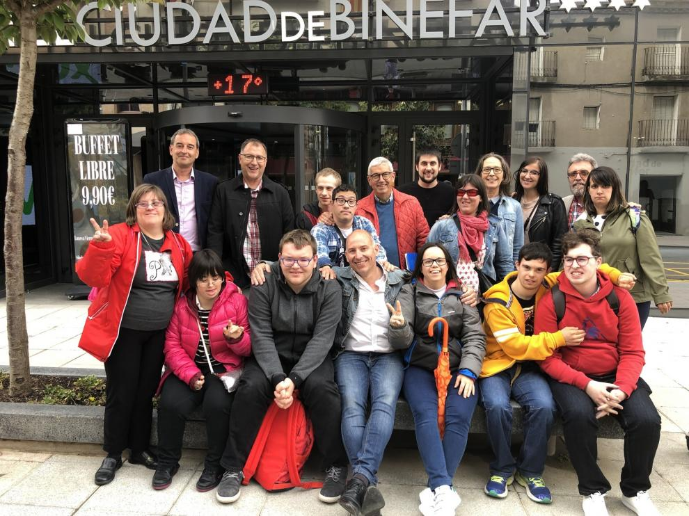 Down Huesca coordinará en Binéfar un innovador programa Erasmus + en el medio rural
