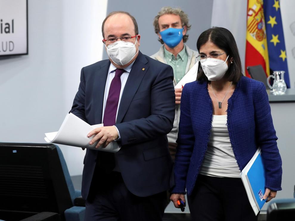 La variante británica del coronavirus puede predominar a finales de febrero en España