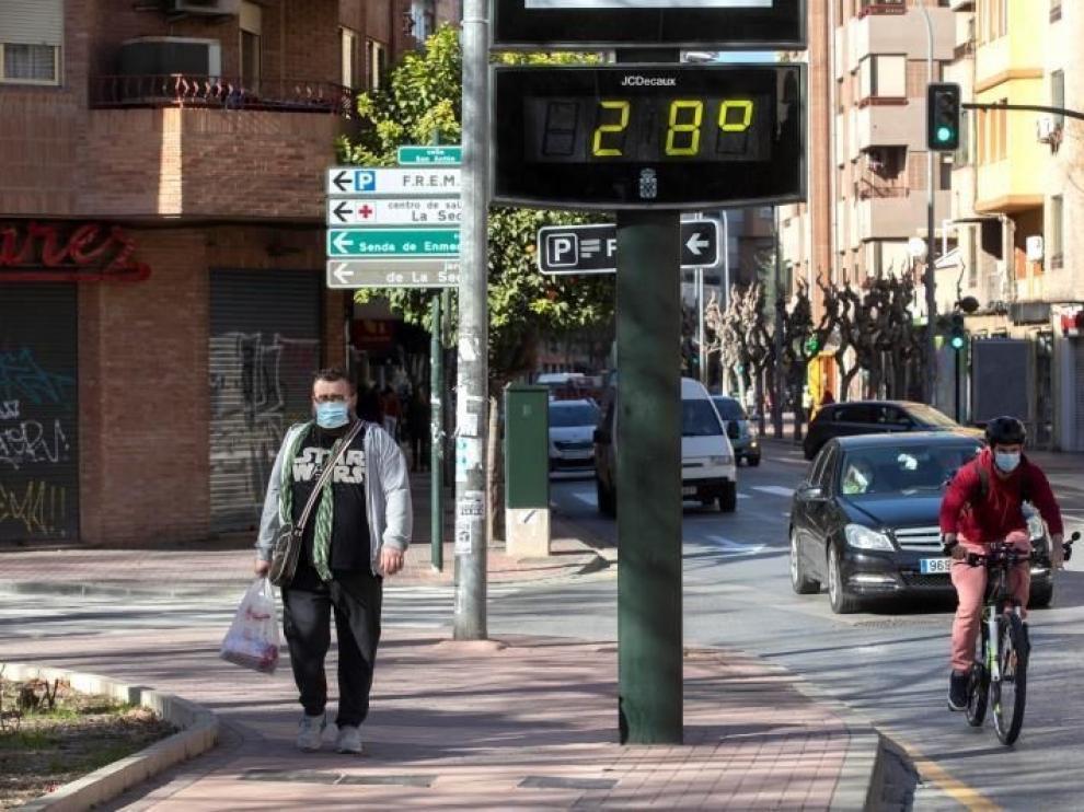 Un enero con 65 grados de diferencia en España