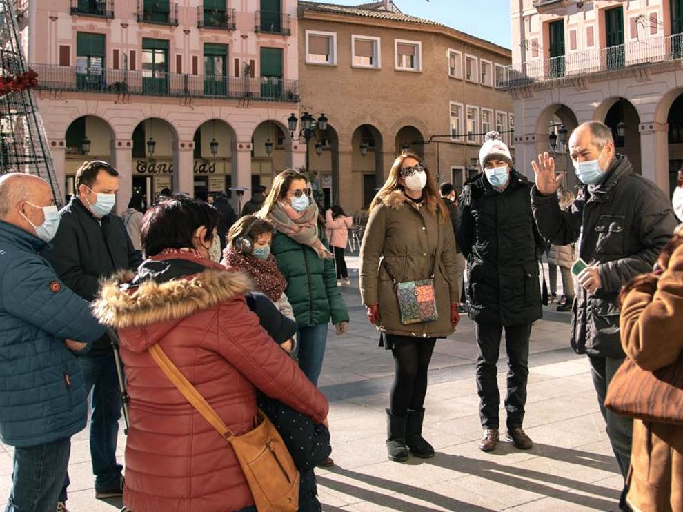 La Oficina de Turismo de Huesca ofrece en febrero visitas al Parque Miguel Servet