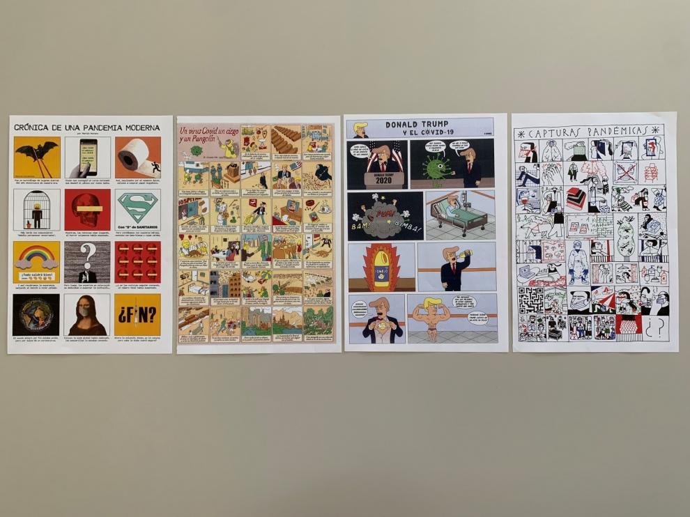La DPH da a conocer los ganadores del concurso de viñetas sobre la covid 'Aleluyas de la pandemia'