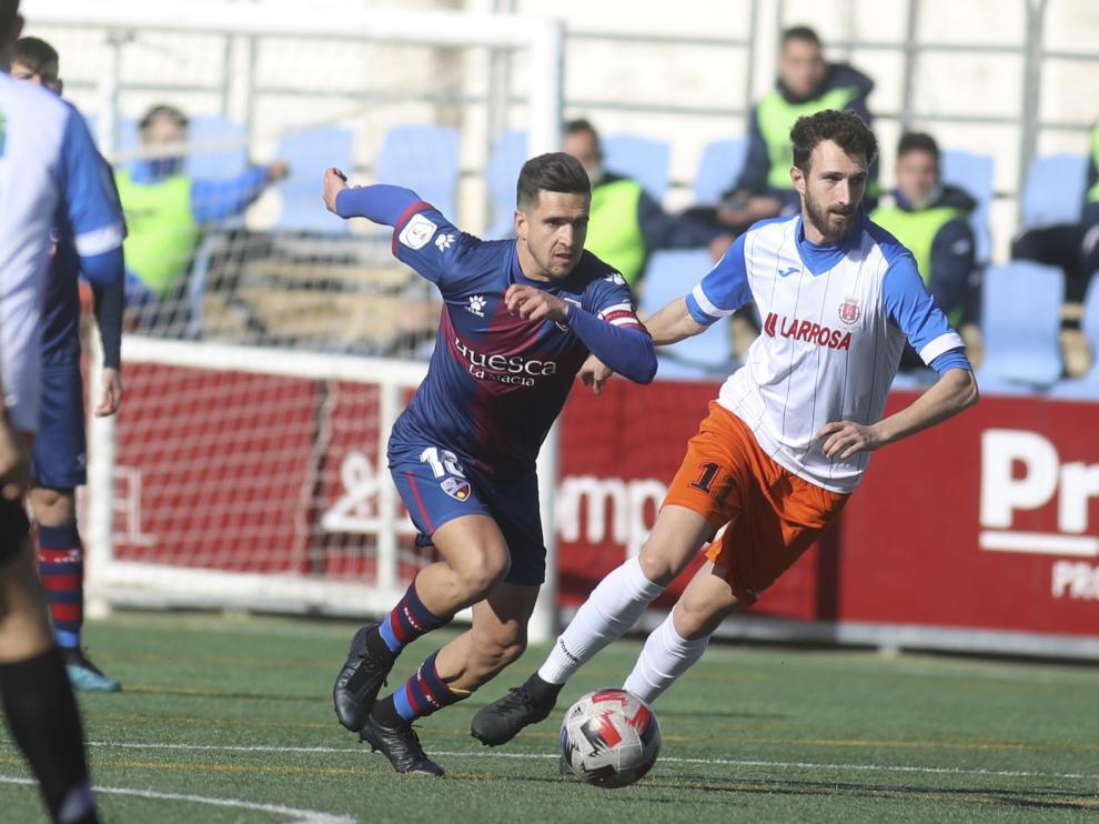 El Huesca se estrella en el frontón