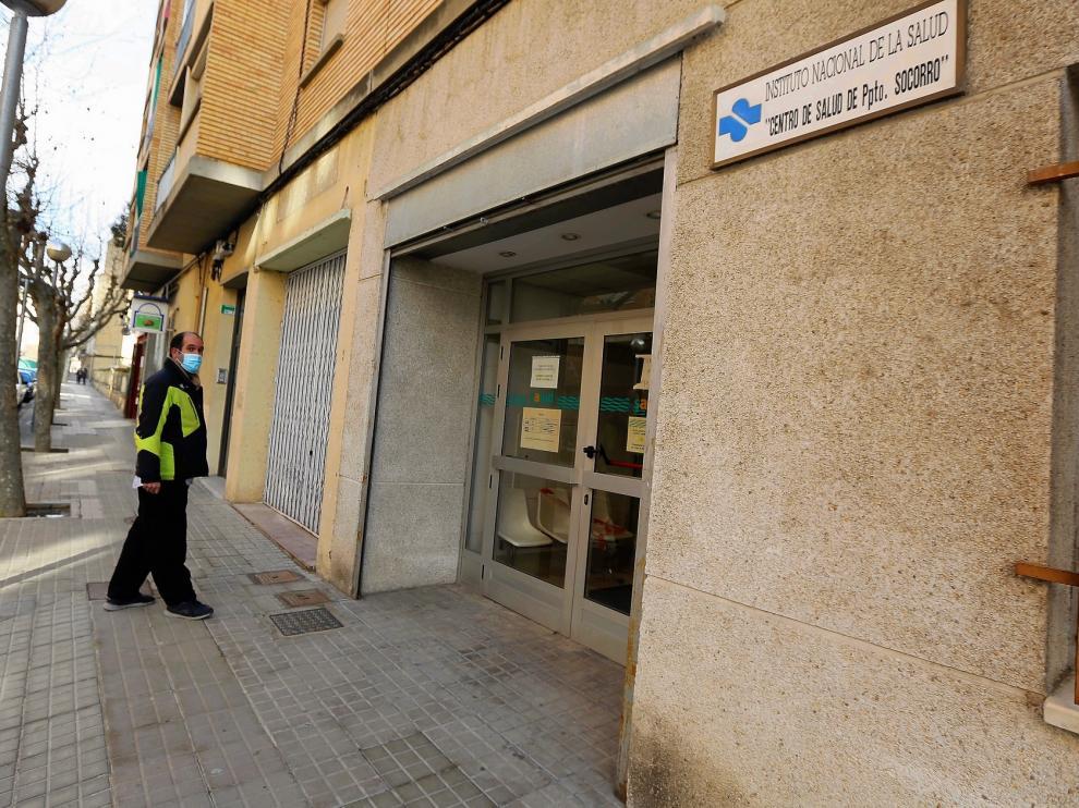 La covid mengua todavía más el espacio del centro de salud de Perpetuo Socorro de Huesca