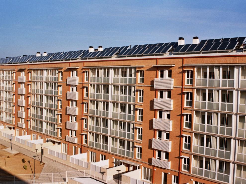 Aragón destina 8,7 millones a la rehabilitación energética de edificios