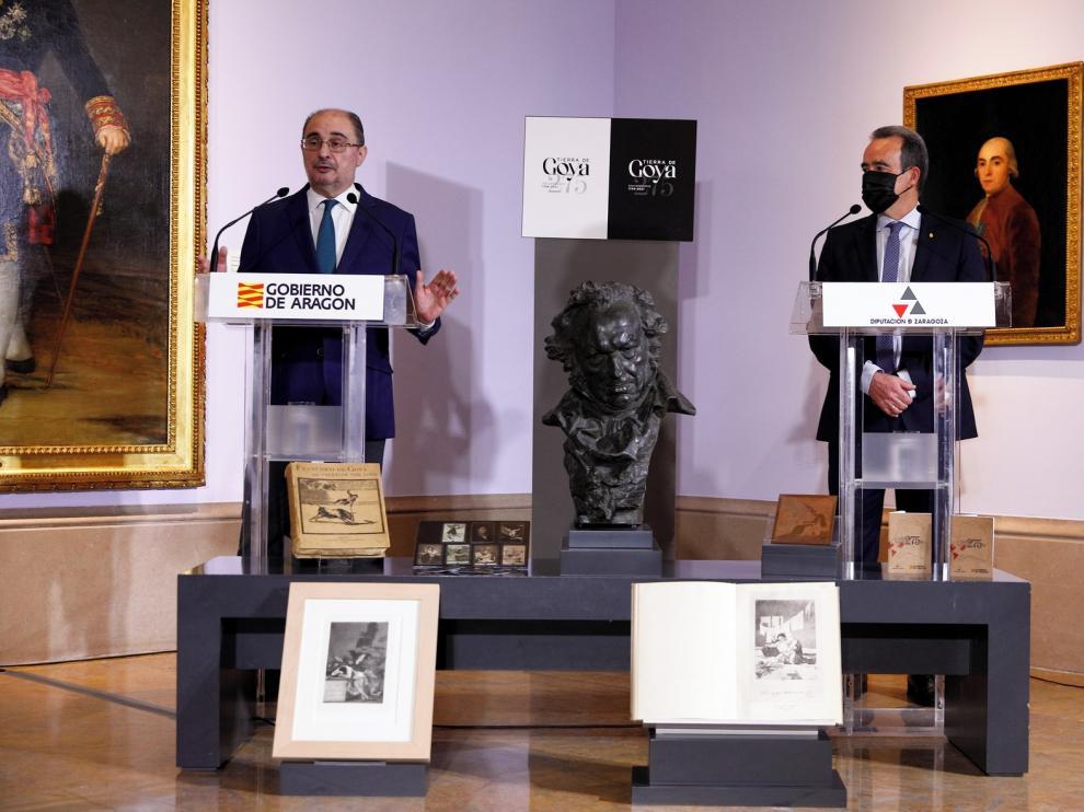 Huesca celebrará el 275 aniversario de Goya con una exposición