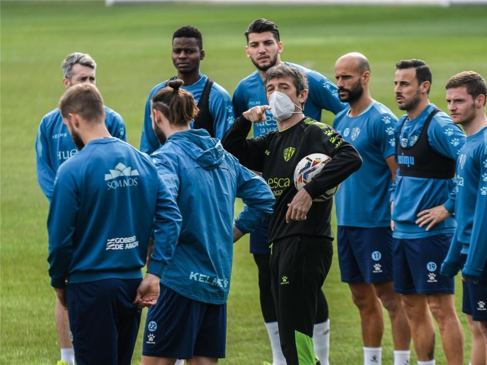 """Pacheta quiere que el Huesca """"siga fiel a su estilo"""" y que """"el Madrid se sienta incómodo"""""""