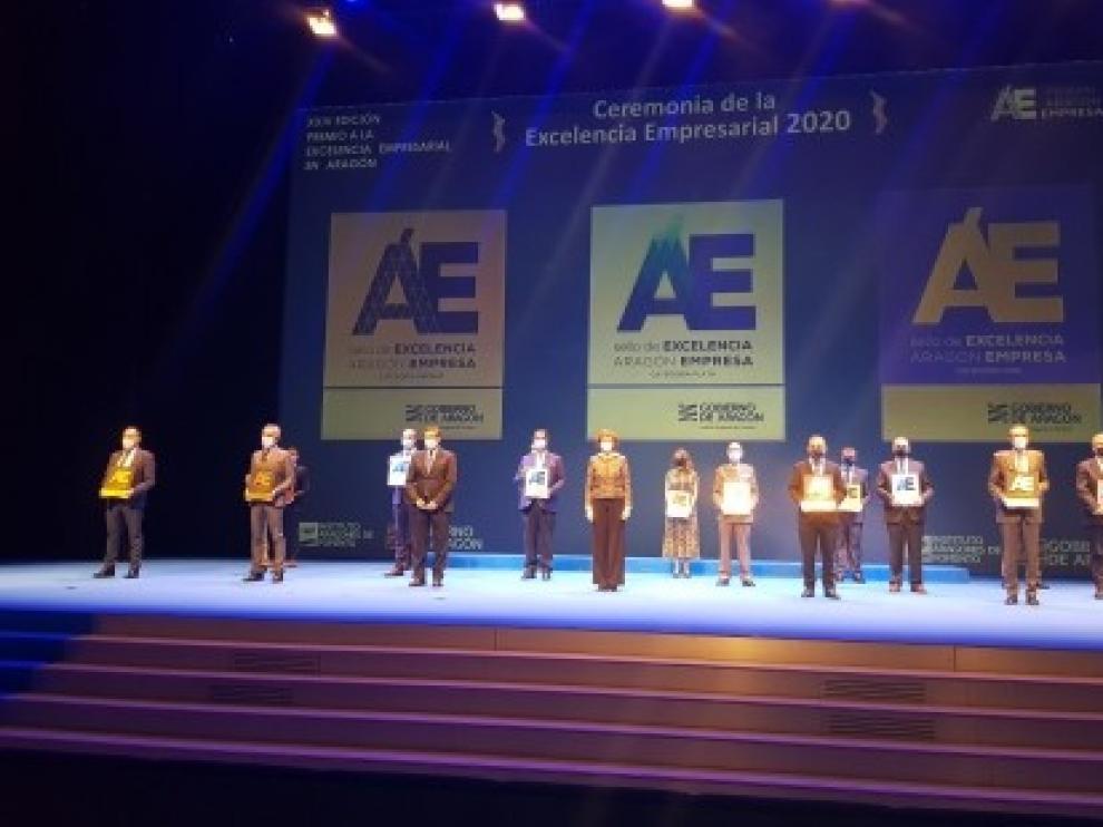 Un total de 31 entidades de Huesca participan en el Premio a la Excelencia Empresarial de Aragón