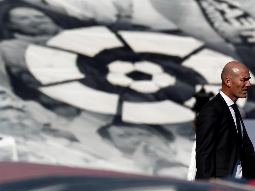 """Zidane se enfada con la prensa, pide respeto y avisa que el Madrid viene a Huesca """"muy animado"""""""