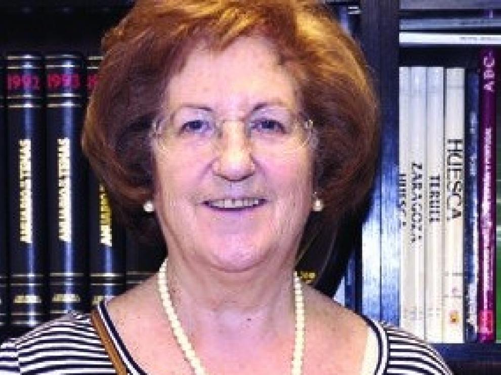 Fallece Consuelo Pérez, ex presidenta de la AECC de Jaca