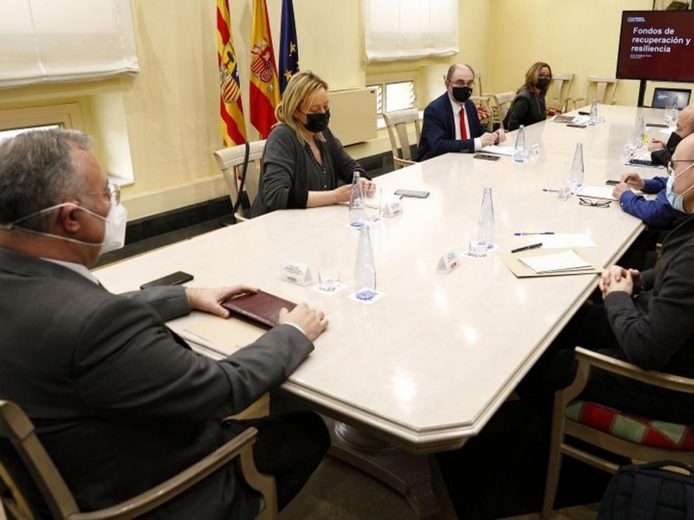 Aragón diseña una estrategia para captar fondos europeos