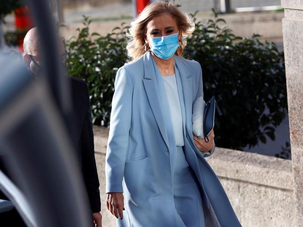 La fiscal acusa a Cristina Cifuentes de presionar sin mancharse