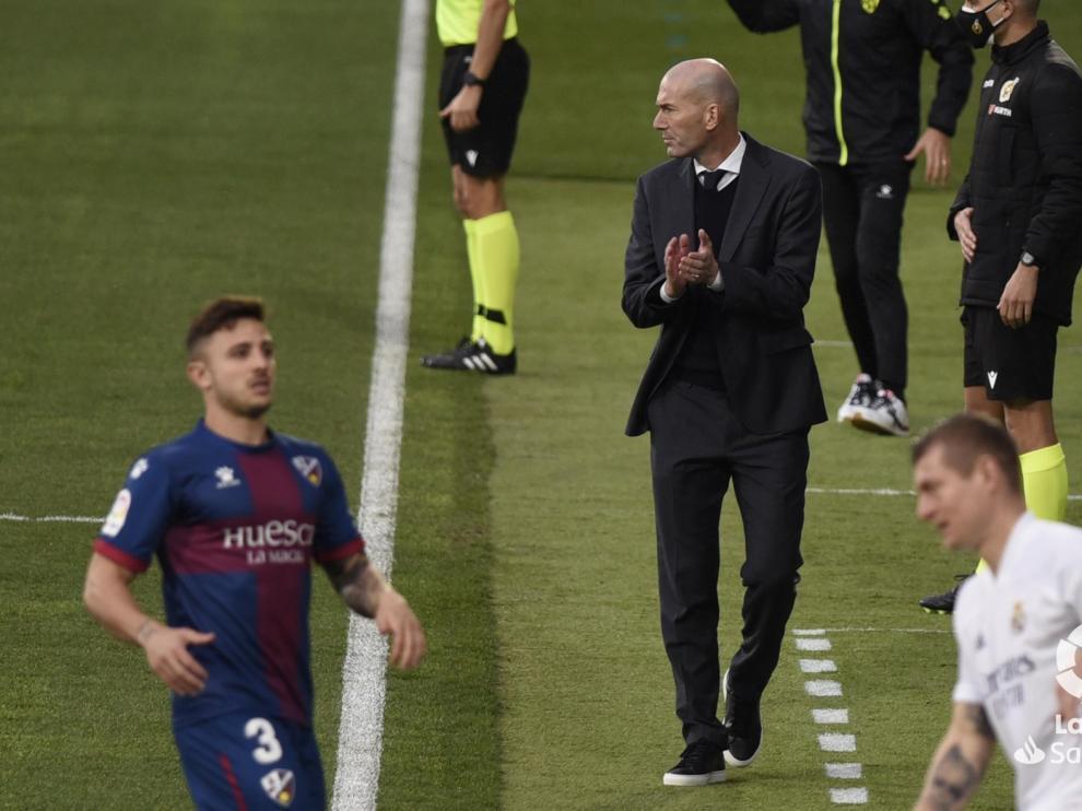 """Zidane: """"Hoy hay que estar muy contentos con lo que hemos hecho"""""""