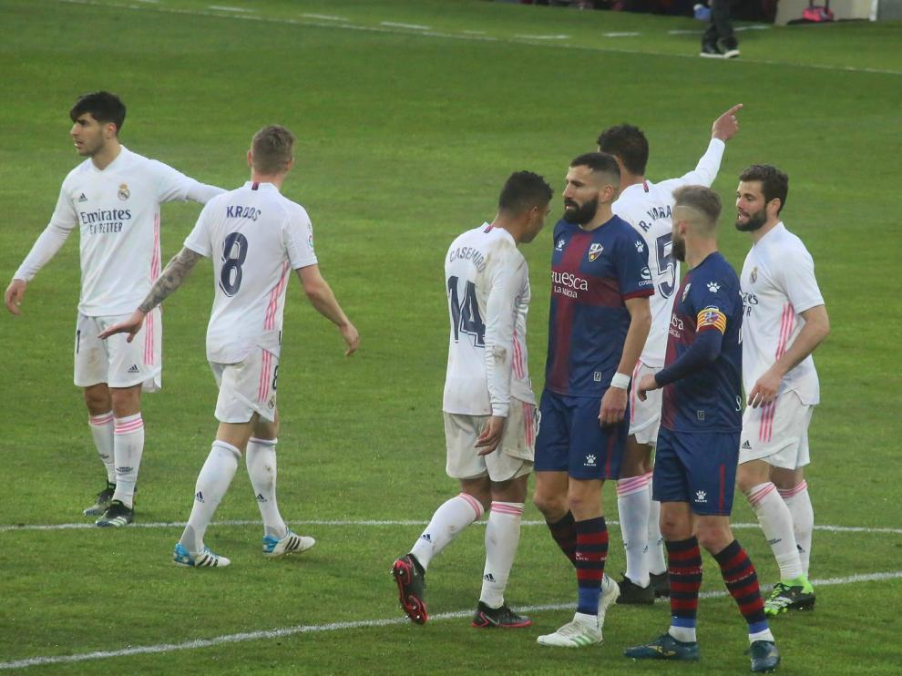 Partido SD Huesca-Real Madrid