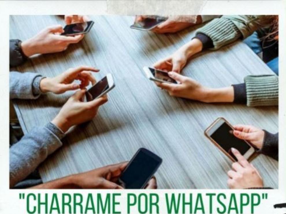 """""""Chárrame por WhatsApp"""" ya tiene abierta su segunda edición"""