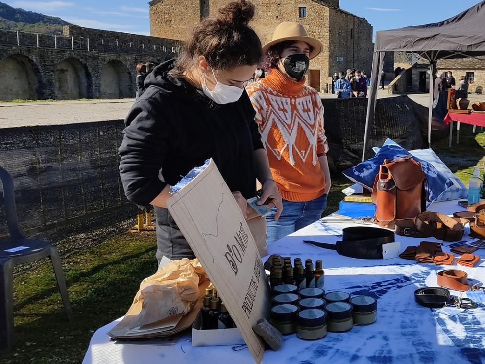 La Ferieta de Aínsa anima el primer fin de semana de febrero en la localidad sobrarbense