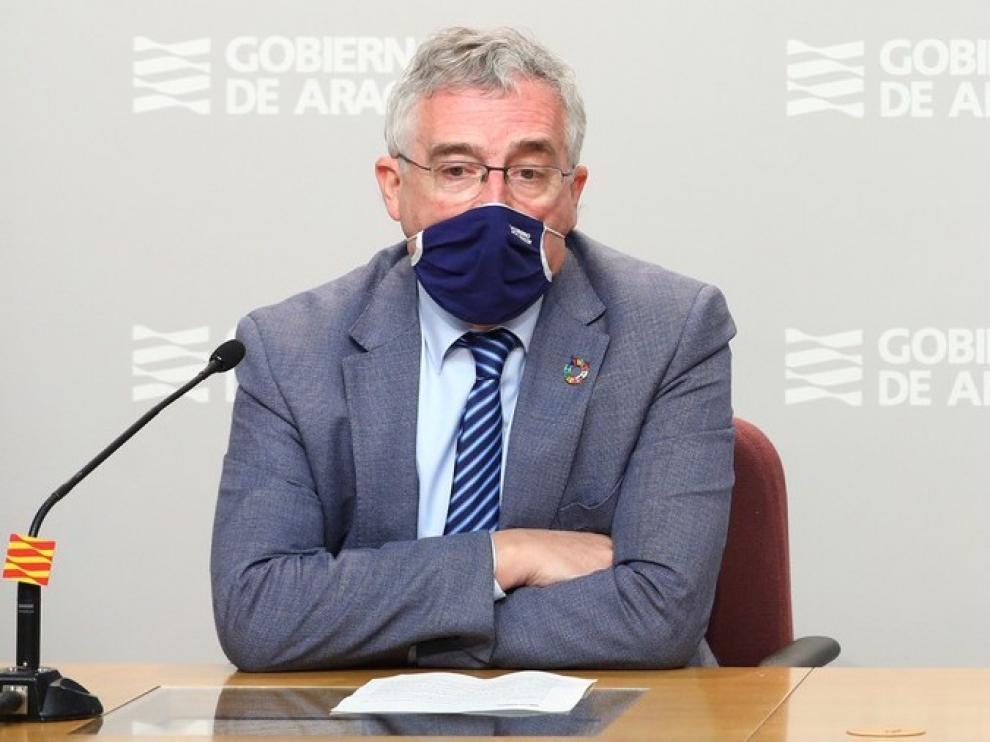 """Joaquín Olona: """"Es prioridad que la agroalimentación sea motor de recuperación"""""""