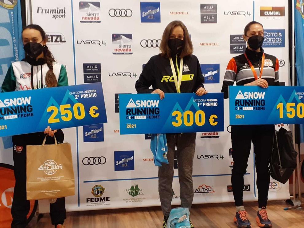 Virginia Pérez se estrena en la disciplina de Trail Running por la puerta grande