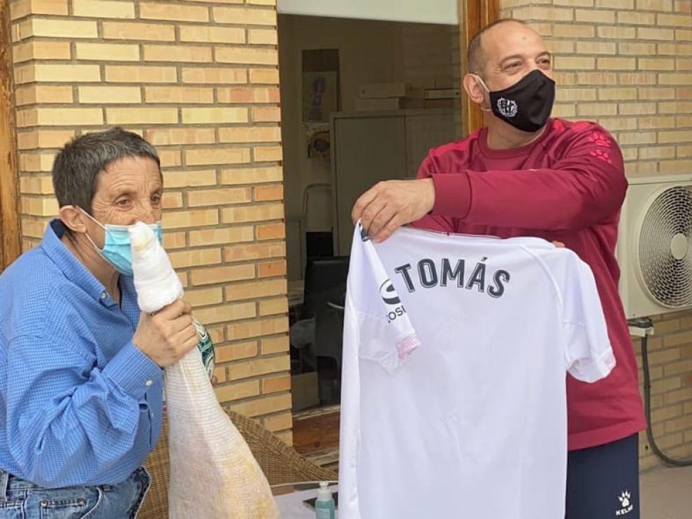 Tomás Ara, un mito del Huesca