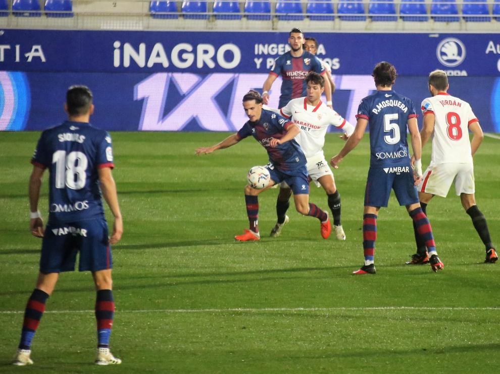 El Huesca se medirá con el mejor Sevilla del curso