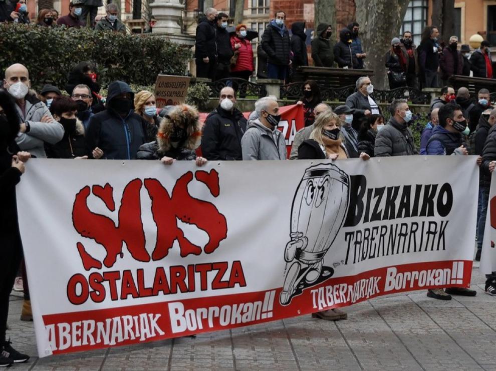 """Autorizan la reapertura de la hostelería en la """"zona roja"""" de Euskadi"""