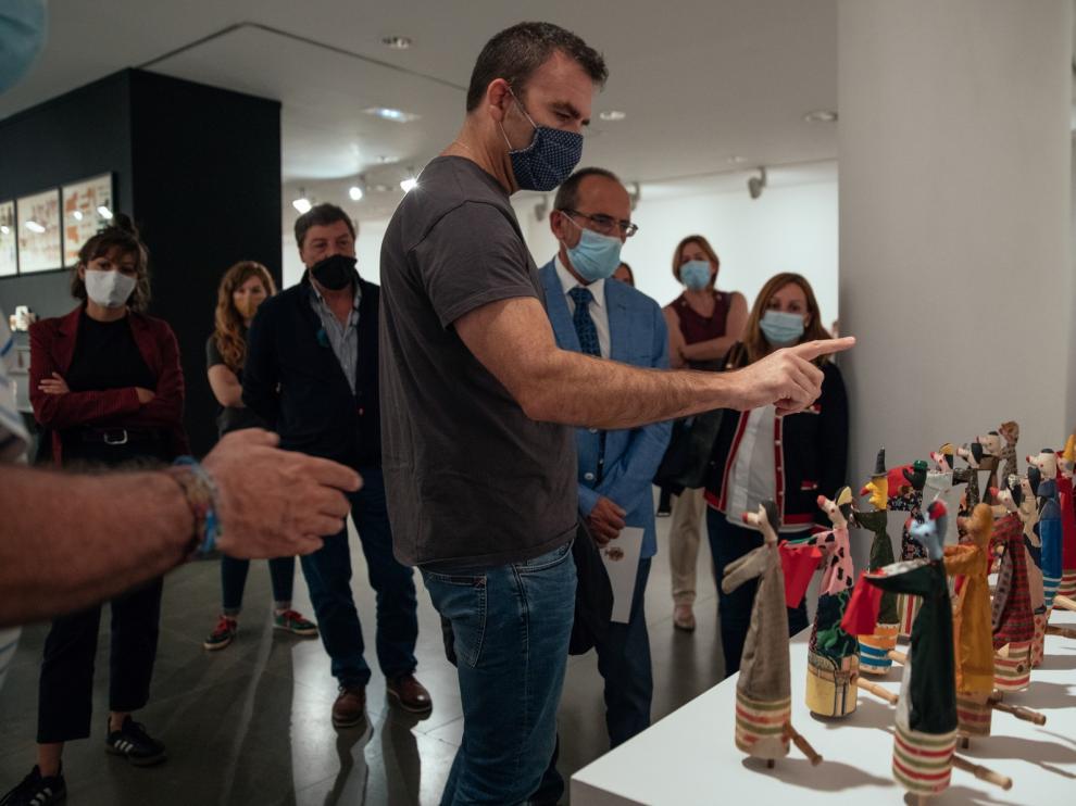 """Más de cinco mil personas visitan la exposición """"Arte Ingenuo"""" en la Diputación Provincial de Huesca"""