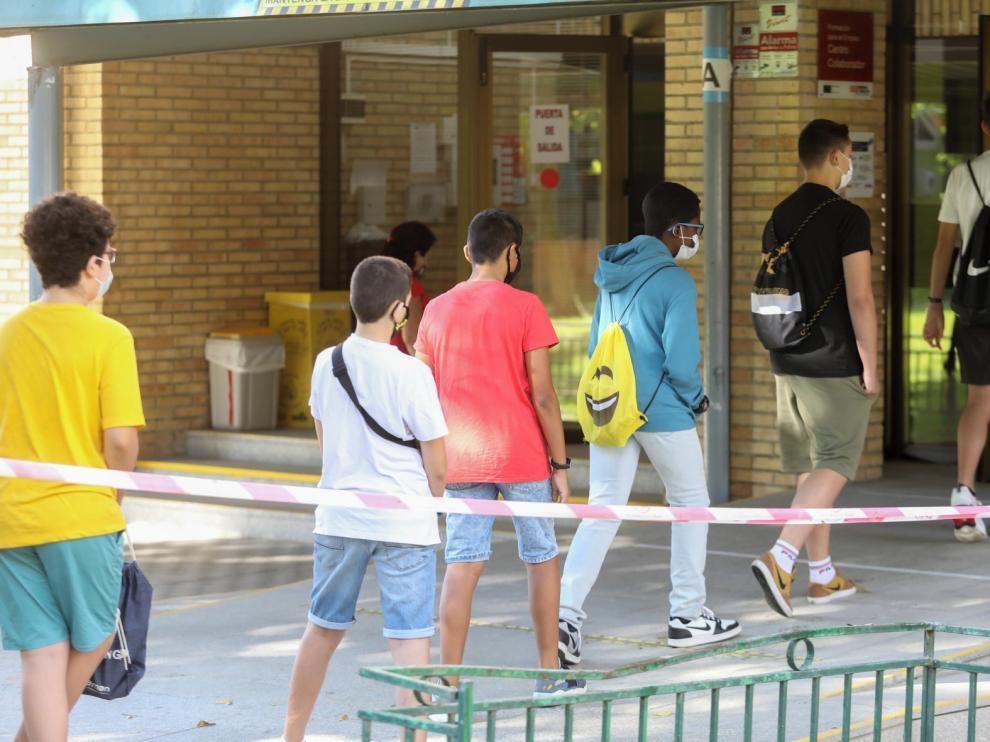 CCOO pide medios para la seguridad en las aulas en Huesca