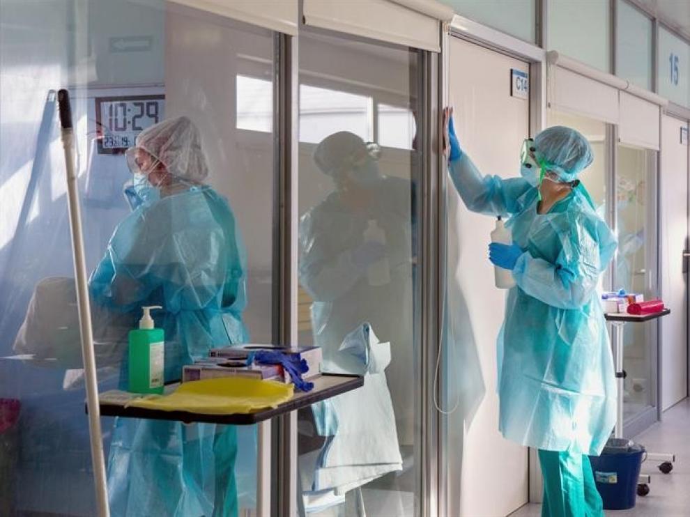 Acciones urgentes en los sectores sanitarios de Huesca
