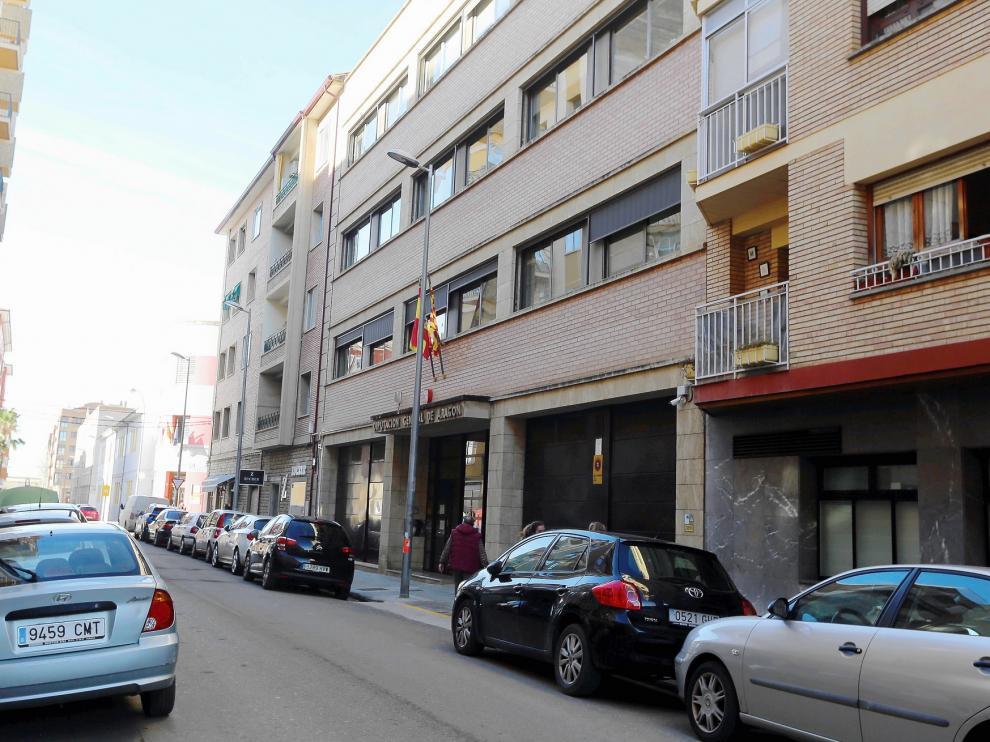 Desalojado el edificio de la DGA de Ricardo del Arco en Huesca por un fuerte olor a quemado