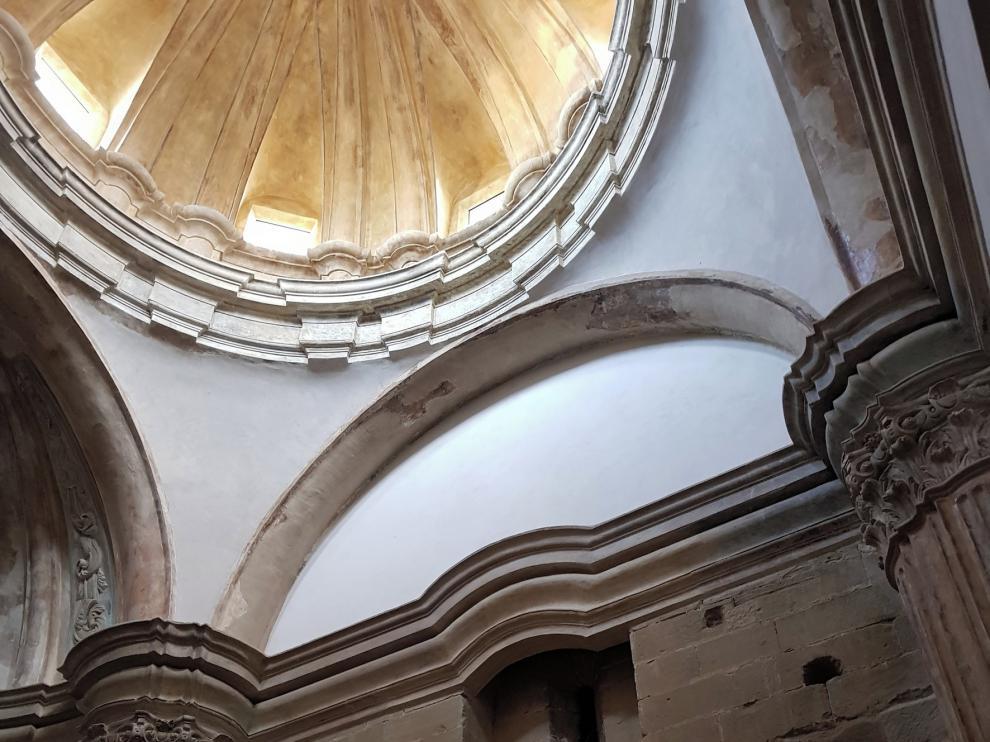 Culminan la mejora de la capilla de la Inmaculada de Sijena