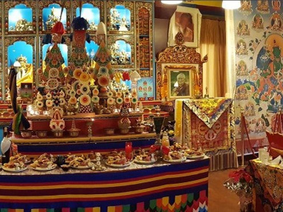 Celebración del Año Nuevo Tibetano en Panillo