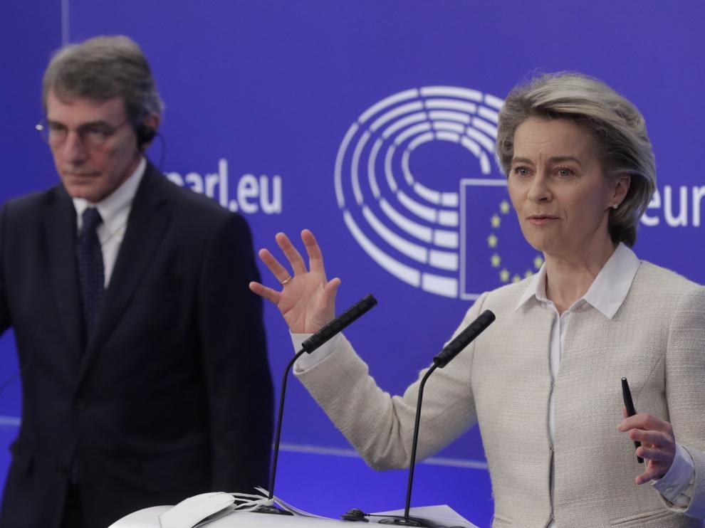 La UE espera que los fondos europeos empiecen a llegar a inicios de verano