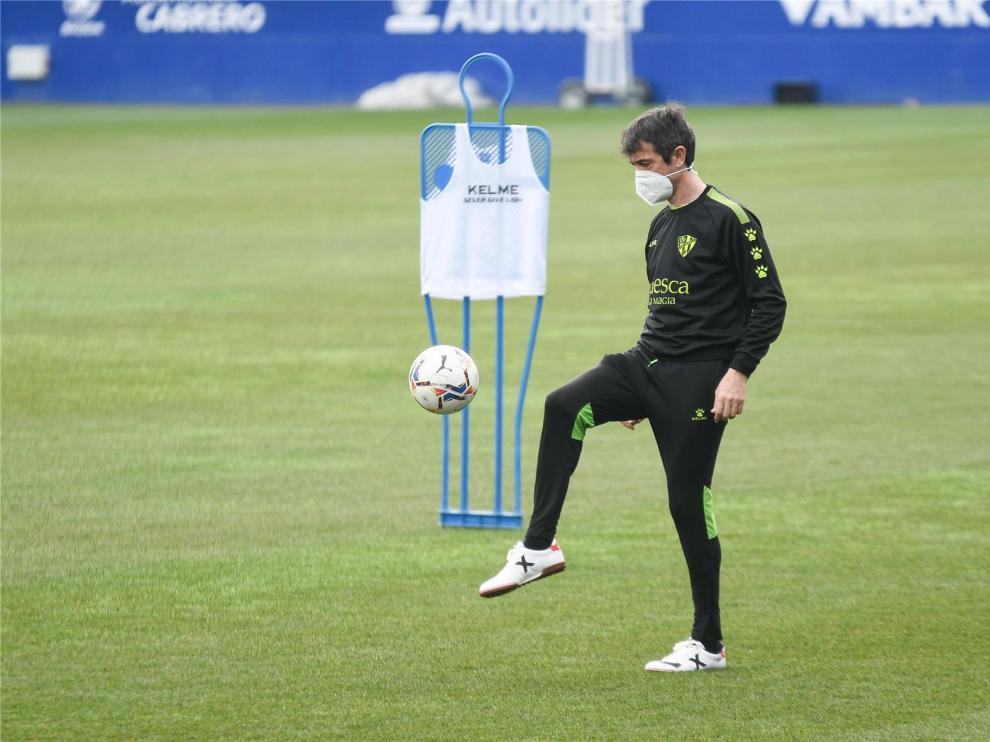 """Pacheta, """"confiado, satisfecho y orgulloso"""" para buscar la victoria en Sevilla"""