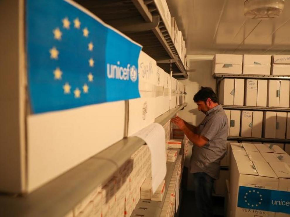 Acuerdo de Unicef y Pfizer para distribuir su vacuna contra la covid