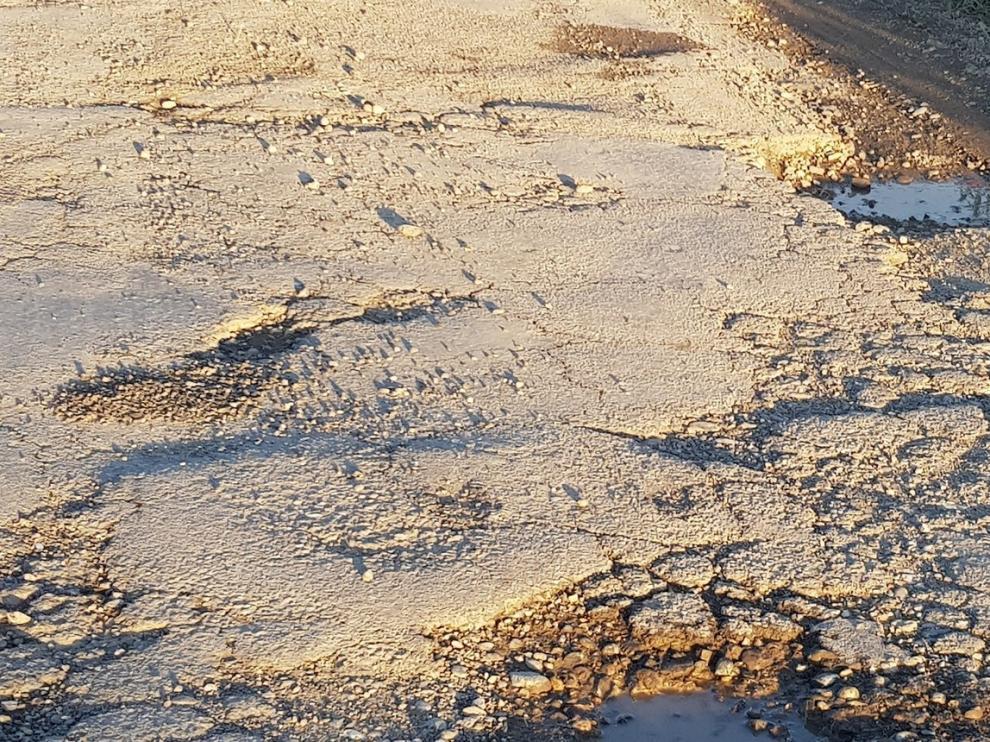 La mejora de la carretera HU-920 en Altorricón se acometerá esta primavera