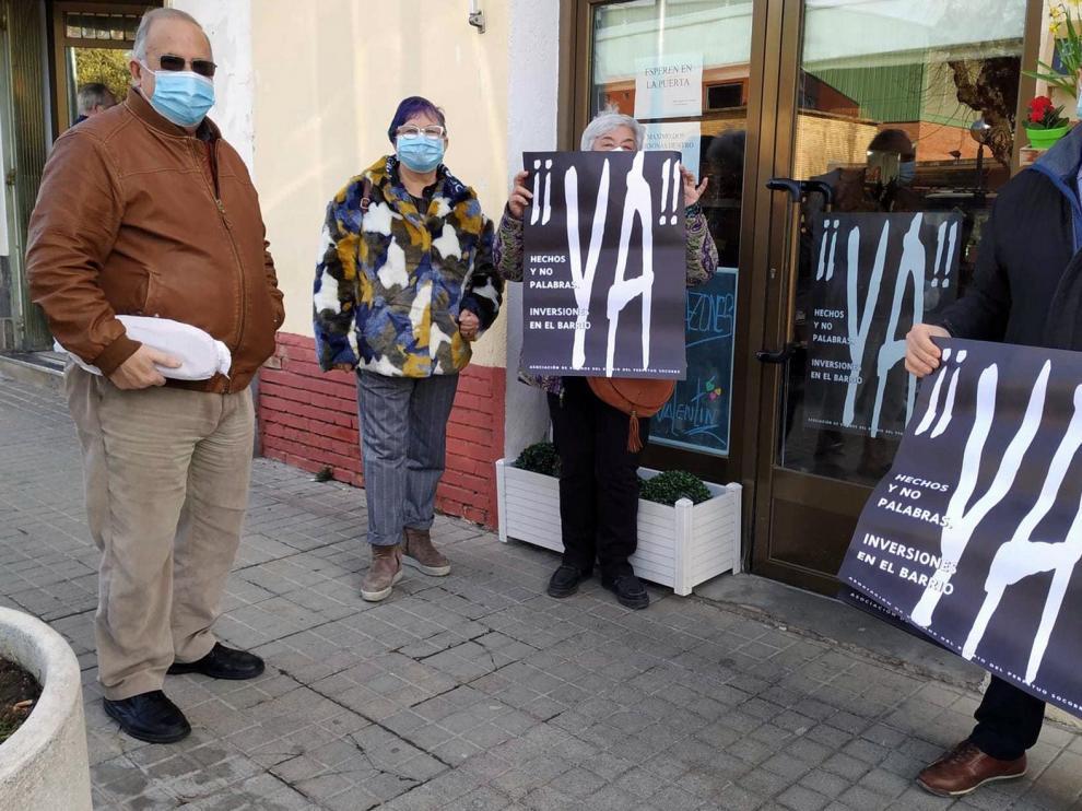 Reivindicaciones de 30 años que siguen sin atenderse en el Barrio del Perpetuo Socorro de Huesca