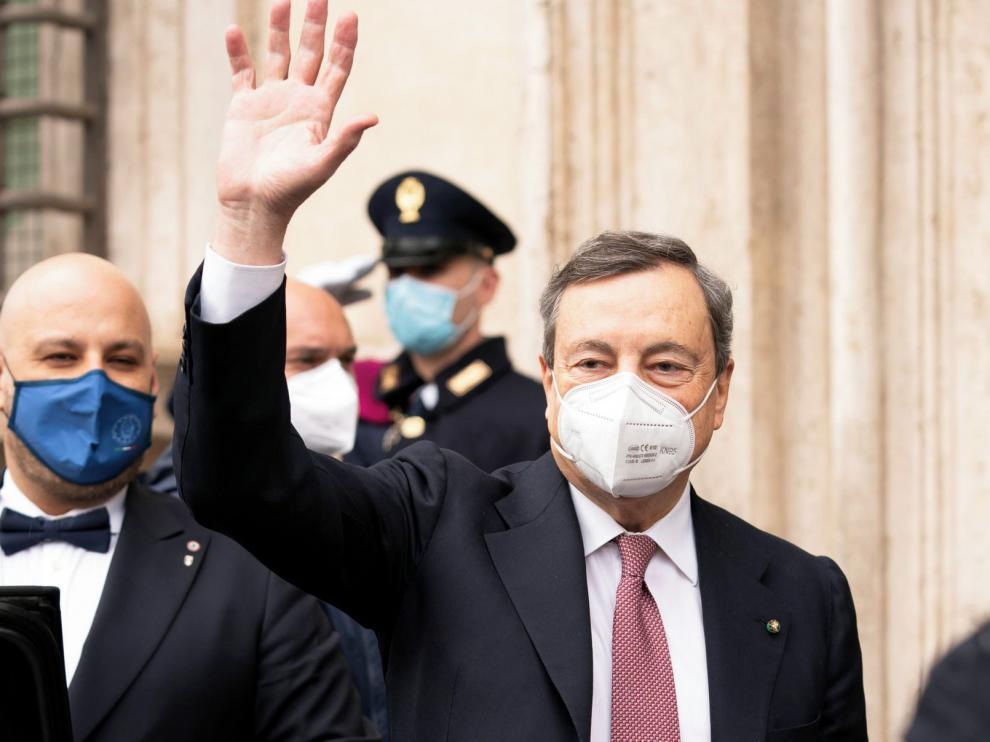 Draghi toma las riendas de Italia para sanar la crisis