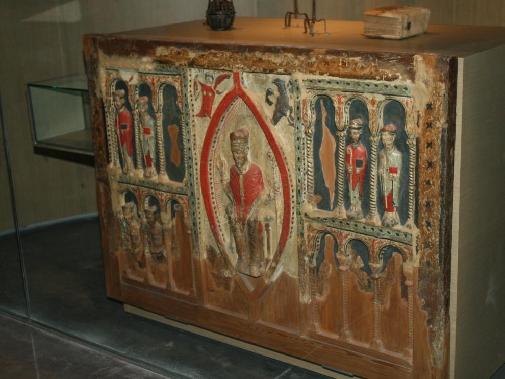 El plazo para devolver los bienes sacros a Barbastro finaliza este lunes