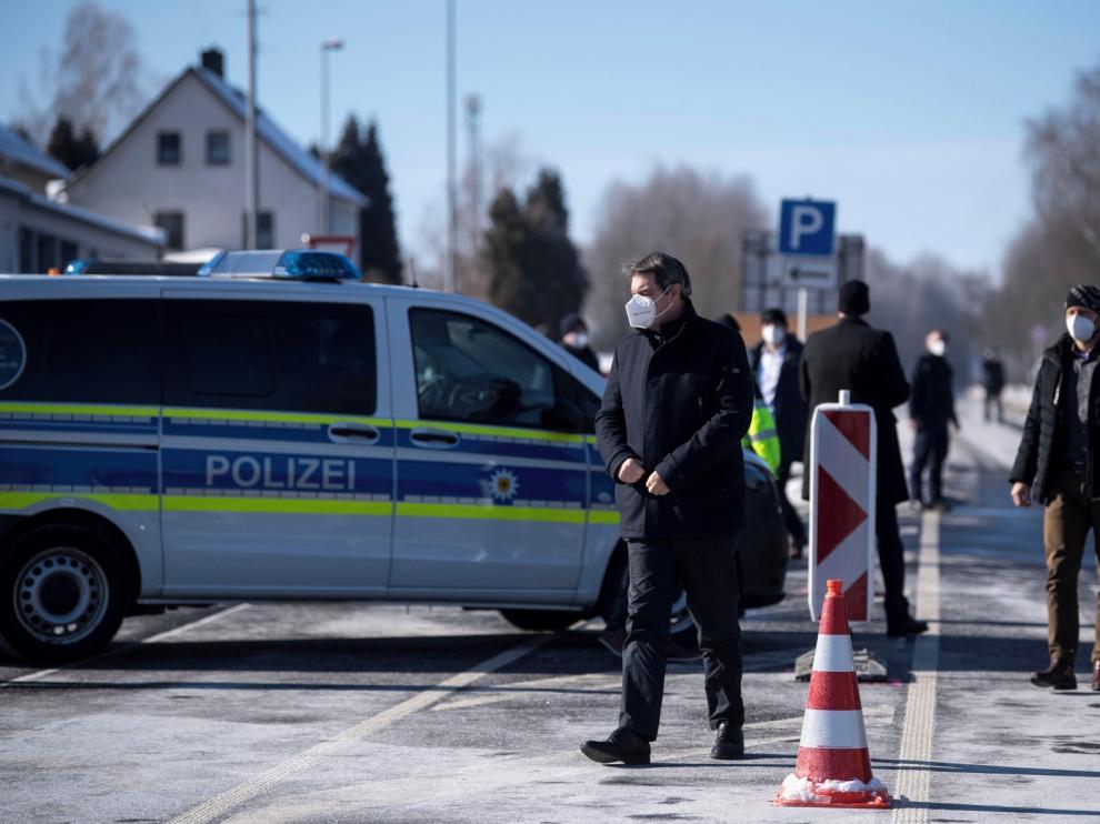 Alemania refuerza sus controles fronterizos con la incidencia a la baja