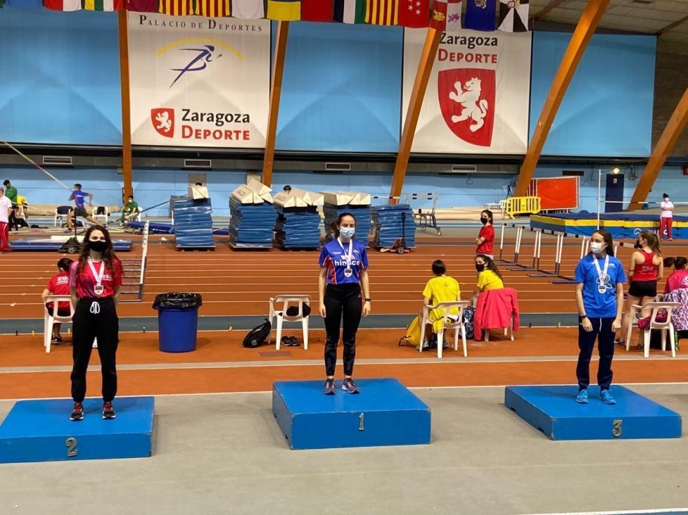 Elena Daniel y Pablo Delgado se estrenaron como Sub-23 y Eva Rico como Sub-20 en atletismo