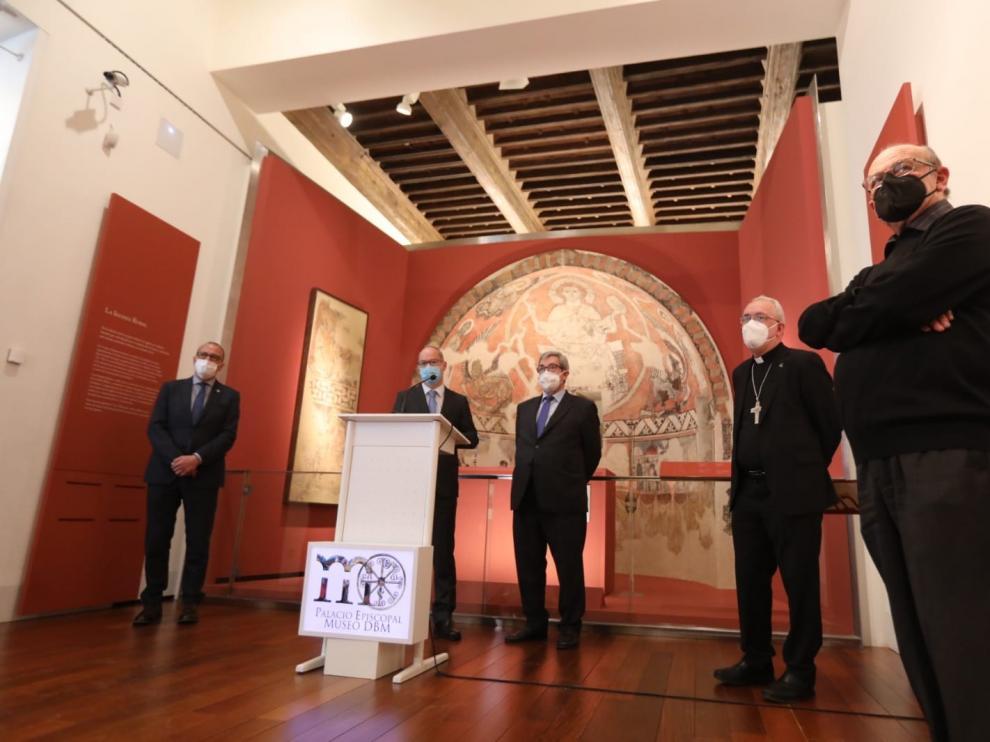 Aragón celebra la inmediata devolución de los bienes tras 25 años de espera