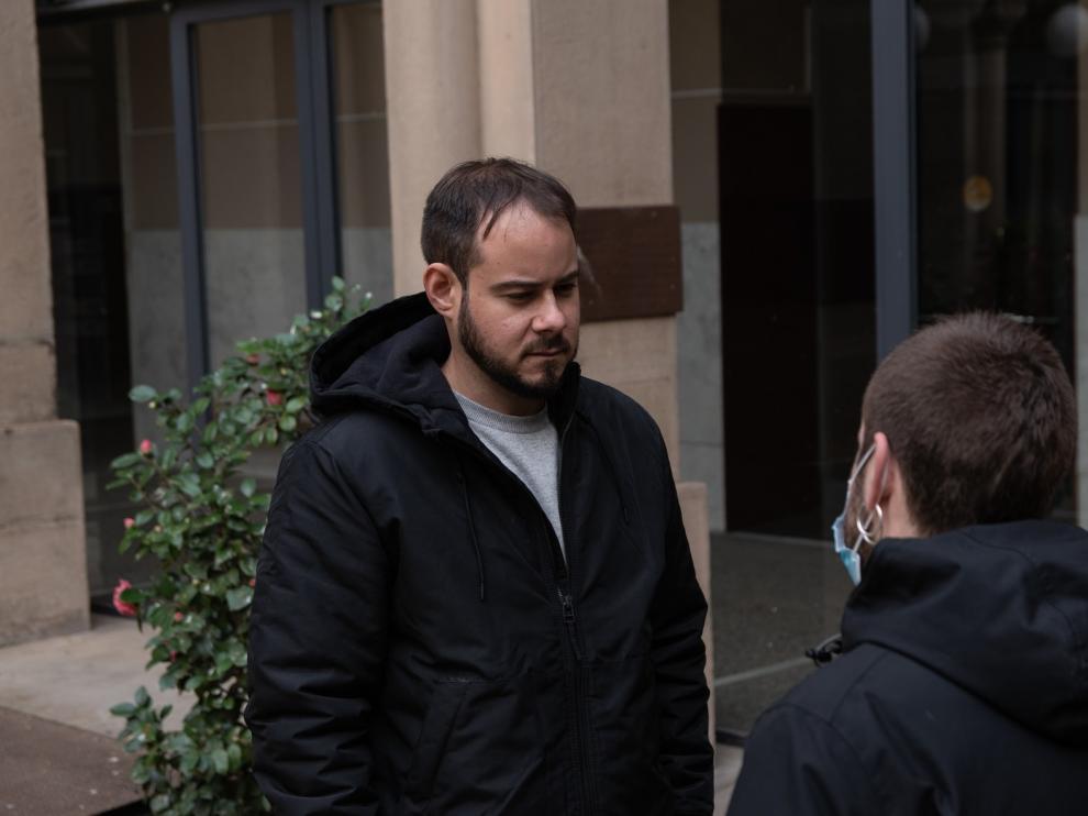 Pablo Hasel se encierra en la Universidad de Lérida para evitar el ingreso en prisión