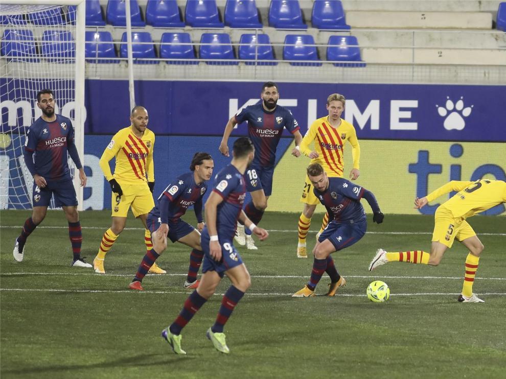 El Huesca ya sabe cuándo visitará el Camp Nou