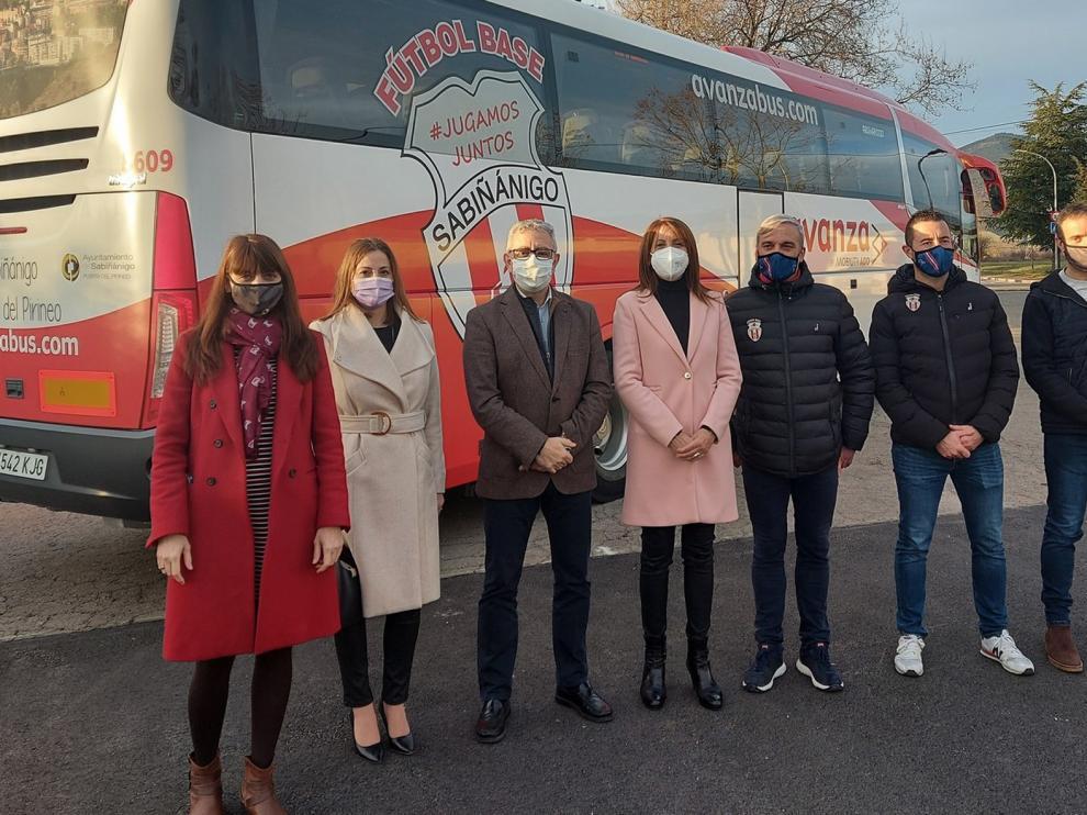 Un autobús promocionará Sabiñánigo y su fútbol base