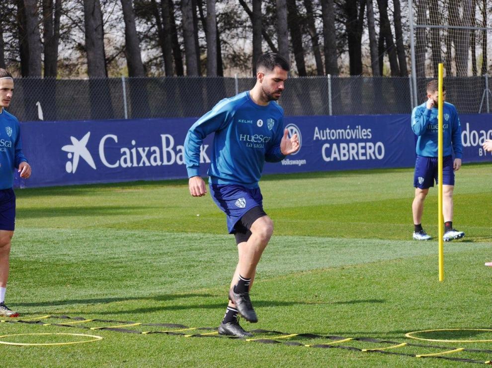"""El Huesca se muestra """"con confianza para afrontar lo que viene"""""""