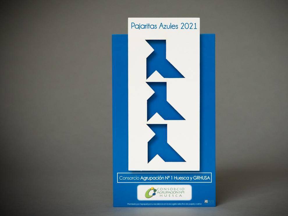 Huesca, reconocida un año más por su excelencia en la recogida de papel y cartón