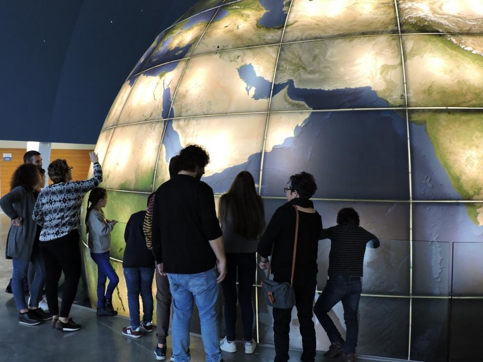 El Planetario ofrece en la Semana Blanca visitas y observaciones nocturnas en Huesca
